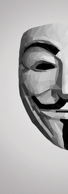 V for Vendetta Mask Low Poly on Behance v for vendetta Low Poly V For Vendetta Wallpapers, Joker Wallpapers, Apple Wallpaper, Wallpaper Backgrounds, Wallpaper Quotes, V For Vendetta Mask, Anonymous Mask, Hacker Wallpaper, Robot Wallpaper
