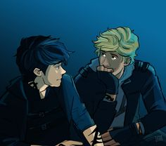 """parabatai"" emmilinne(tumblr) Jace and Alec"