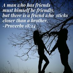 Growing Up In The Word : Friendship