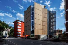 SPBR na Suíça: escritório de Angelo Bucci projeta edifício residencial com escritório no térreo e via pública que corta o lote e liga duas ruas :: aU -…