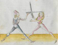 Lecküchner, Hans: Kunst des Messerfechtens Nordbayern, 1482 Cgm 582 Folio 362