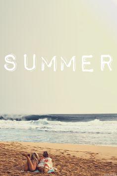 Las alegrías de la playa del verano ...