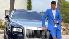 Cristiano Ronaldo montre sa Rolls Royce 2021 d'une valeur de 1,1 millions de Dollars