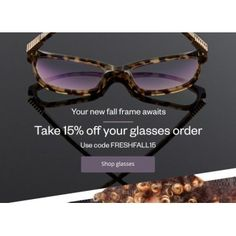 Glasses @ Clearly 15% OFF - Bargain Bro