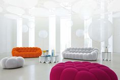 Un canapé design tout en rondeur