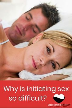Why is initiating sex so difficult? - Does your spouse have trouble initiating sex? Not sure why? Here are some reasons it could be so you can understand them better. - http://uncoveringintimacy.com/why-is-initiating-sex-so-difficult/?utm_campaign=coschedule&utm_source=pinterest&utm_medium=Jay%20Dee&utm_content=Why%20is%20initiating%20sex%20so%20difficult%3F #marriage #sex
