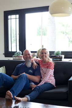 INSPIRING MID CENTRY MODERN CALI CLEAN ESTHETICS: Lori & Monte's Fun California Modernism House Tour