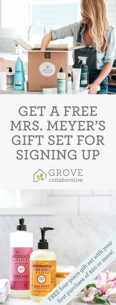 Sign up and discover the best natural household and personal products . https://www.grove.co/s/pinmmcdtrio/?offer=pinmmcdtrio&flow=hiw-spray&utm_medium=social&utm_source=pinprospect&utm_campaign=pinterest&utm_content=prod&utm_term=77.5p