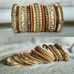 Items similar to Silk thread Bangles Silk Thread Bangles Design, Silk Bangles, Bridal Bangles, Thread Jewellery, Bridal Bracelet, Jewellery Making, Gold Jewellery, Beaded Necklace Patterns, Bangle Set