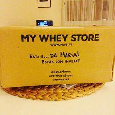 Obrigado @mws.pt #mywheystore #mywhey #coisasboas #fitportugal #womenshealthportugal #portugalfit #academia #suplementos ( # @mrcga4) #MyWheyStore www.mws.pt