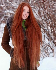 Very long red hair #redhead #long #red #hair