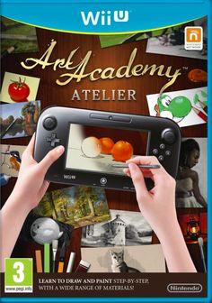Art Academy: Atelier (European boxart), WII U