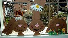 Easter Art, Easter Crafts, Easter Bunny, Diy For Kids, Crafts For Kids, Decoration Creche, Easter Games, Easter Printables, Cardboard Crafts
