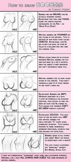 Natural boobies, vs implants:  Funny, and also helpful.