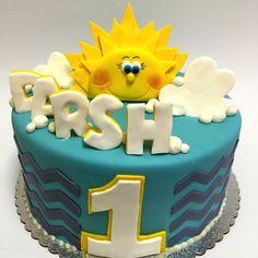Sunshine Birthday Cake