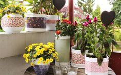 Lana Red Studio: Flower Pots DIY
