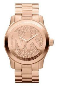 My favorite color watch- rose gold