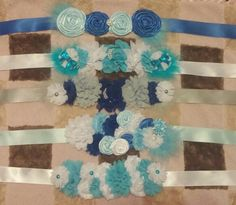 #Maternity sashes #basket ties #photography props Www.facebook.com/agapestopboutique
