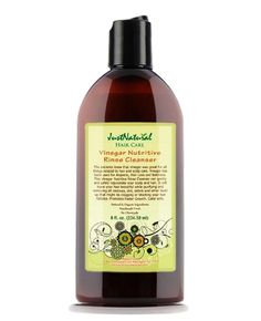 Just Natural Vinegar Rinse Cleanser Dandruff, 8 Oz, Black Natural Hair Care, Natural Skin, Natural Hair Styles, Natural Beauty, Natural Cures, Natural Makeup, Grow Hair, Smell Good, Face Wash