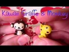 Kawaii Giraffe & Monkey Tutorial: Polymer Clay