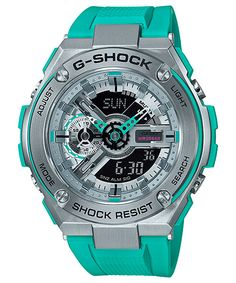 """From the G-SHOCK pursuing toughness and evolving, a new model with vivid coloring has appeared on G-STEEL, which opens new ground for metal. Inspired by the cotton eyes of Manhattan and the American jazz """"Boogie Woogie"""", adopted coloring inspired from the composition """"Composition"""" composed of black vertical line and horizontal line grid pattern and three …"""