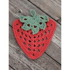 Granny Stawberry Dishcloth
