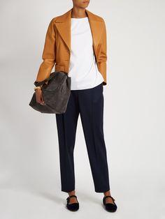 Sea wool-gabardine trousers   The Row   MATCHESFASHION.COM UK