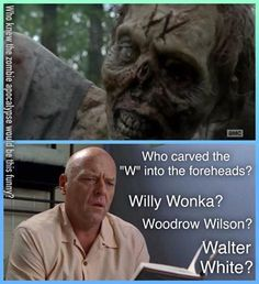 For those who also love breaking bad Walking Dead Quotes, The Walking Dead 2, Walking Dead Funny, Breakin Bad, Breaking Bad Jesse, Saga, Actors Funny, Are You Not Entertained, Zombie Apocalypse