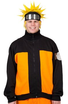 Naruto Track Jacket for sale at 80sTees! And it's me, Believe it! ^_^