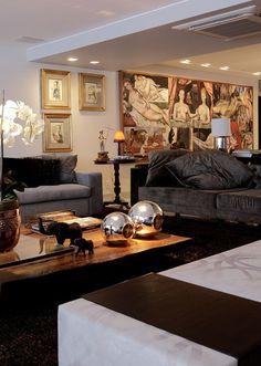Apartamento 350 m² - Recife  Reforma por Soraya Carneiro Leão, Bruna Lobo e Danielle Paes Barreto, do escritório Arqmulti.