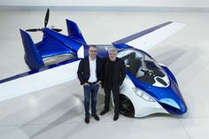 When you're developing something as complex and ambitious as a flying car, you've got to expect a few hiccups along the way – and Slovakia-based AeroMobil certainly experienced one last Friday, when its AeroMobil prototype crash-landed. Home Technology, Technology Gadgets, Volkswagen, Industrial Fan, Flying Car, The Future Is Now, Tech Toys, Mode Of Transport, Water Crafts