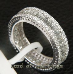 Hey, I found this really awesome Etsy listing at https://www.etsy.com/listing/155170407/316ct-baguetteround-diamond-18k-white