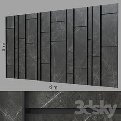 models: Other decorative objects - Decorative wall Media Wall, Concrete Wall, Wall Patterns, Wall Treatments, 3d Wall, Textured Walls, Decorative Objects, Wall Tiles, Wall Design