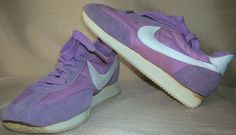 Vintage Nike Women's Athletic Shoes Purple with White Nike Swoosh Sole  NEW #Nike #RunningCrossTraining