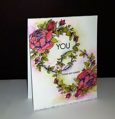 Penny Black Cards, Penny Black Stamps, Watercolor Cards, Watercolor Paintings, Watercolors, Black Paper, Cardmaking, Birthday Cards, Paper Crafts
