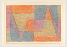 Paul Klee, Danseuse méridionale, 1908, 23, peinture sous verre; cadre reconstruit, 12 x 9 cm, Zentrum Paul Klee, Bern -