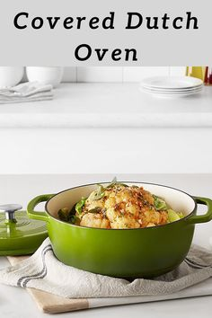 AmazonBasics Enameled Cast Iron Covered Dutch Oven, 4.3-Quart, Green. #ad #cookware #kitchen Cooking Tips, Cooking Recipes, Healthy Recipes, Diet Cheesecake Recipe, Great Recipes, Favorite Recipes, Good Food, Yummy Food, Easy Family Meals