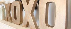 Julegaveidé nr. 13 – Store bogstaver i træ