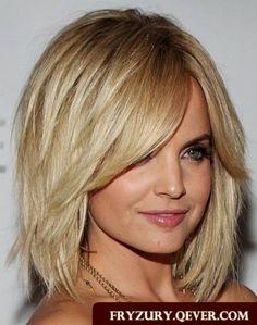 fryzury włosy półdługie - Szukaj w Google