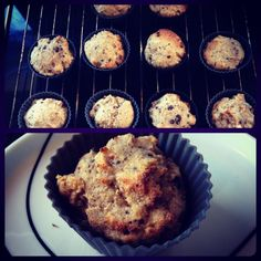 Lækre sunde nødde-choko muffins » Dessert, Opskrifter