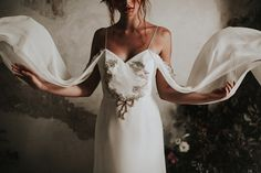 Nora Sarman Bridal / The Duchesse gown / photo Pinewood Weddings Wedding Gown Gallery, Wedding Gowns, Gown Photos, Bohemian Bride, Bridal Lace, Golden Age, Pretty, Weddings, Budapest