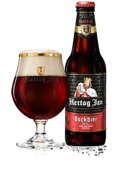 Bock | Hertog Jan Dark Beer, Beers Of The World, Belgian Beer, Beer Brands, Beer Packaging, How To Make Beer, Beer Label, Wine And Beer, Best Beer