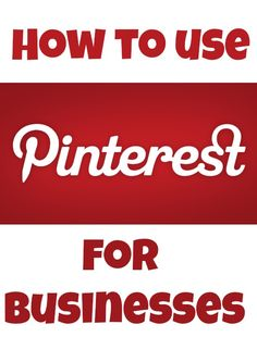 Been wondering how to use #Pinterest for your #business? We have some answers.