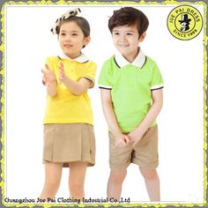 Estilo Koreal moderna uniformes escolares de Kindergarten para los ... School Uniform Fashion, School Uniforms, School Office, School Projects, Ideas Para, Kindergarten, Challenges, Disney Princess, Summer