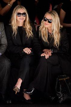 Twins in Black.