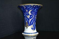 """Rosenthal Selb Bavaria """"Rosari"""" numbered and signed by Wesp. Bavaria, Vases, Gold, Design, Cobalt Blue, Painting Art, Florals, Bayern, Design Comics"""