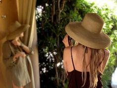 Big woven straw hats add a bit of wow factor to your cabana lifestyle.