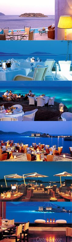 dining in crete Greece
