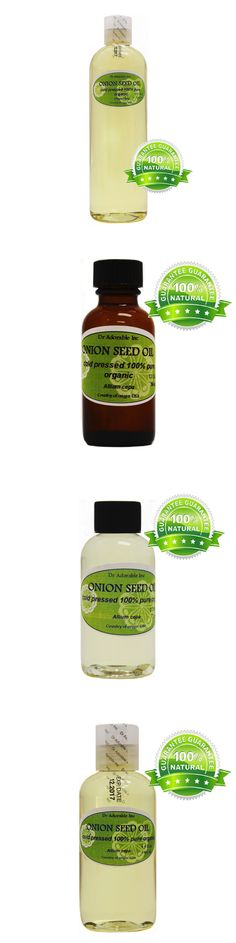 Massage Oils and Lotions: Premium Onion Seed Oil Organic Natural Hair Care Hair Treatment Cold Pressed -> BUY IT NOW ONLY: $89.89 on eBay!