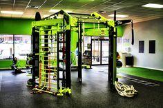 Lean mean green functional training machine! The custom Nova FTS built for goPerformance Tallahassee, FL